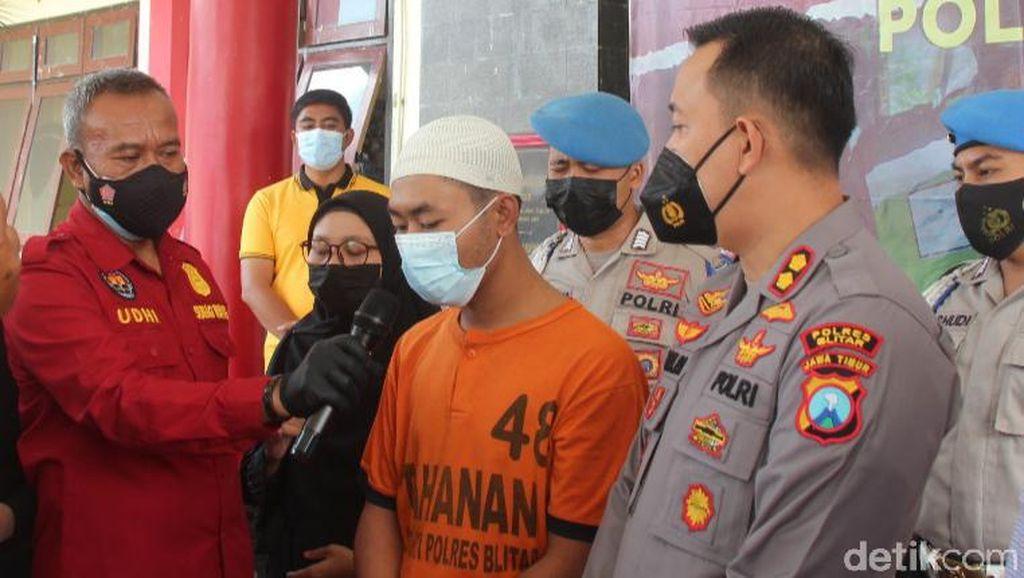 Pembunuh Pria yang Tewas Bersimbah Darah di Blitar Ditangkap