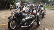 Potret Wakil Ketua MPR Sosialisasi 4 Pilar Kepada Klub Motor di Bandung