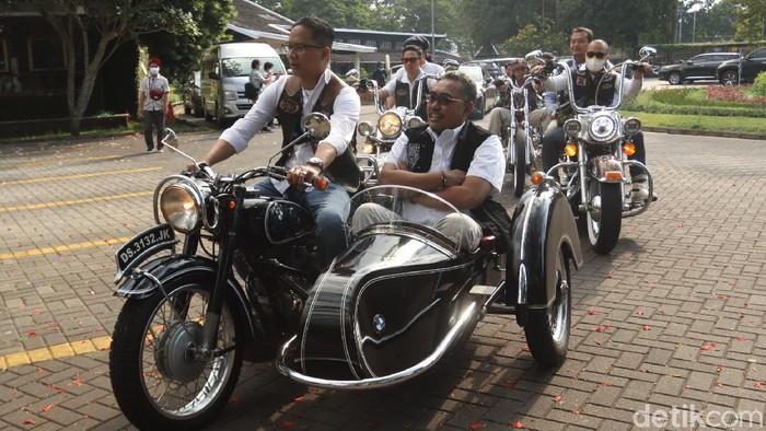 Wakil Ketua MPR Dr. Jazilul Fawaid berkunjung ke Kota Bandung, Jawa Barat untuk mesosialisasikan 4 Pilar kepada klub motor.