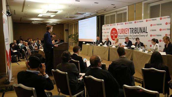 Sidang Turkey Tribunal (Dok. Twitter Turkey Tribunal)