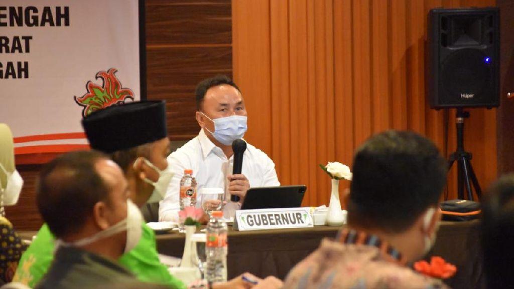 Raker Bareng Bupati, Gubernur Kalteng Minta Menkes Tambah Vaksin Lagi