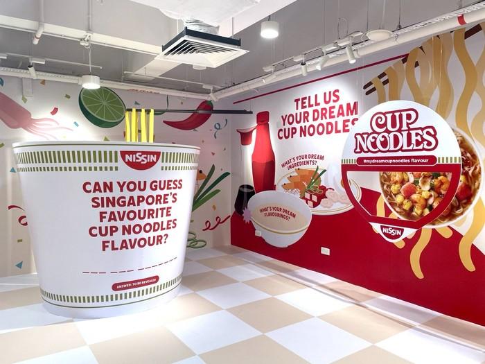 Taman bermain Slurping Good tema mie instan hadir di Singapura