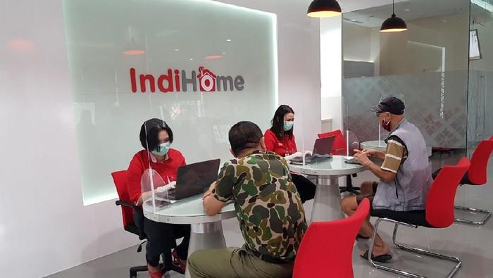 Layanan fixed broadband Telkom, IndiHome.