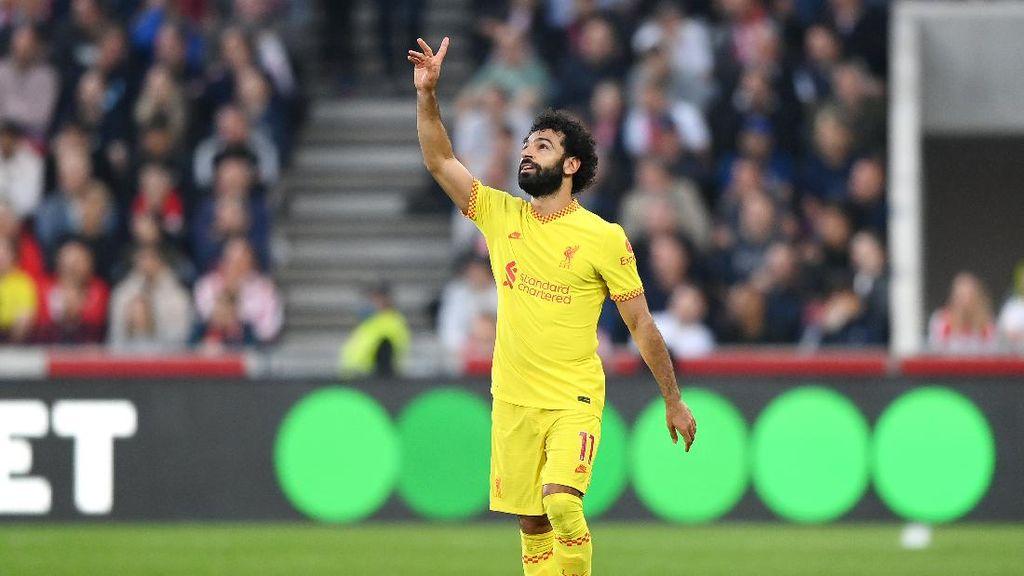 Salah Bikin Rekor, Liverpool Gagal Menang
