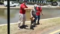 Pensiunan Polisi Viral Jadi Manusia Silver di Semarang Akan Diberi Pekerjaan