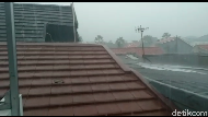 LAPAN: Waspada, Depok Jadi Pusat Pembentukan Badai