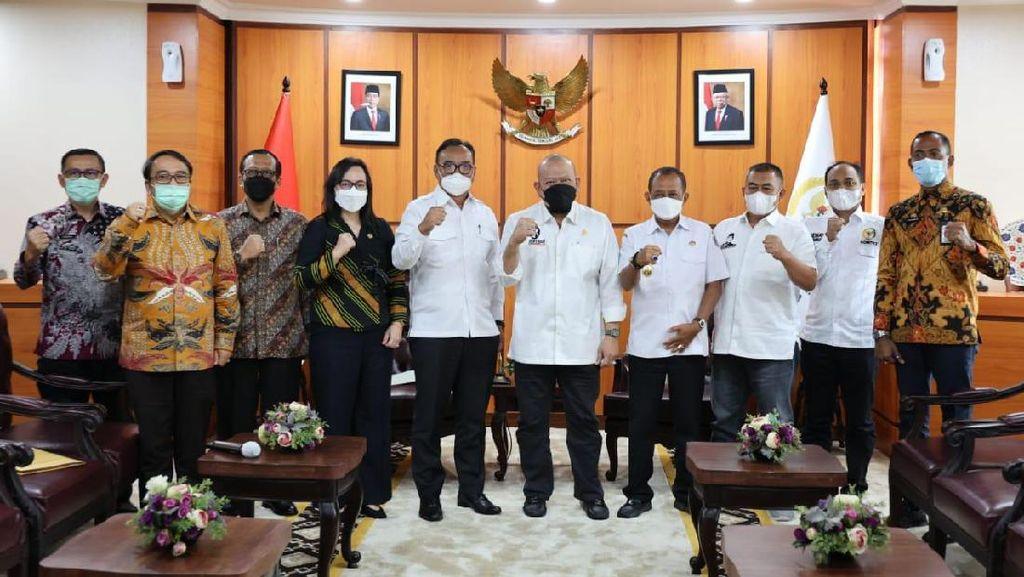 LaNyalla Dorong Pemkot Surabaya Percepat Sertifikasi Aset