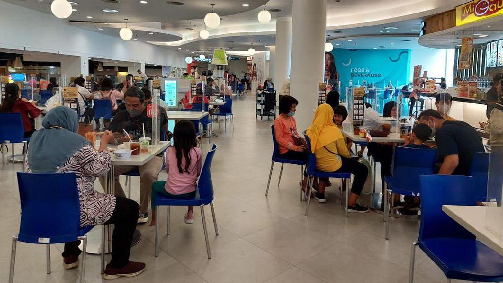 Potret Mal di Surabaya Mulai Ramai Anak Usia 12 Tahun saat Weekend