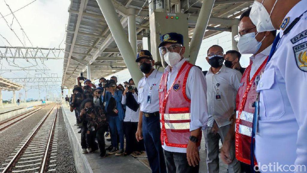 Menhub Cek Jalur Layang Stasiun Manggarai: Netizen Bilang Kayak di Jepang