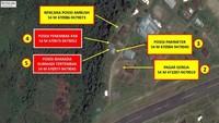Peta Lokasi Anggota Brimob Gugur Ditembak KKB di Kiwirok Papua