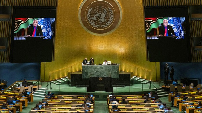Vanuatu kembali bicara soal dugaan pelanggaran HAM di Papua. Hal itu diungkapkan PM Republik Vanuatu Bob Loughman Weibur dalam pidatonya di Sidang Umum PBB.