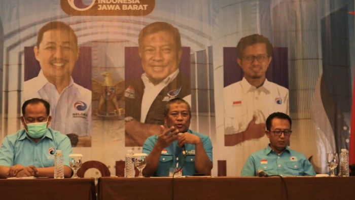 Rakorwil DPW Gelora Jabar di Bandung.
