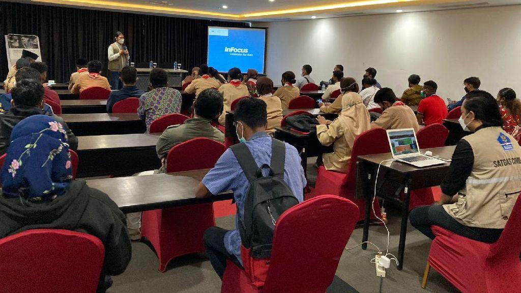 123 Relawan Disebar di Jayapura untuk Pantau Disiplin Prokes PON XX