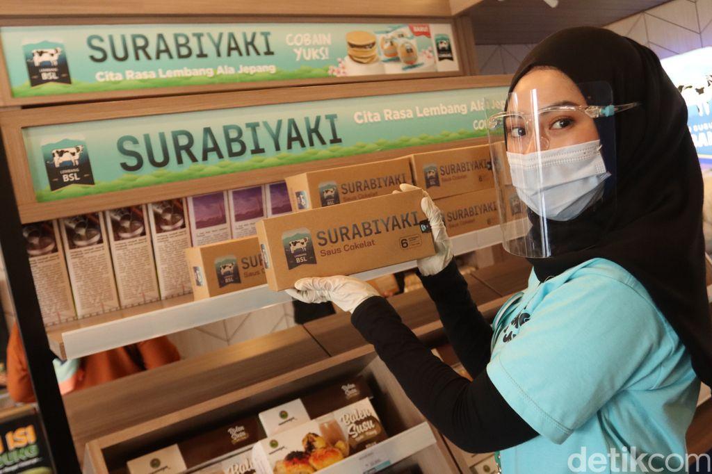 Terbaru di Bandung! Ada Surabiyaki, Sensasi Makan Surabi dan Dorayaki dalam Satu Gigitan