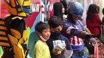 Aturan Diperlonggar, Cosplayer Kembali Beraksi di Jalan Asia Afrika Bandung