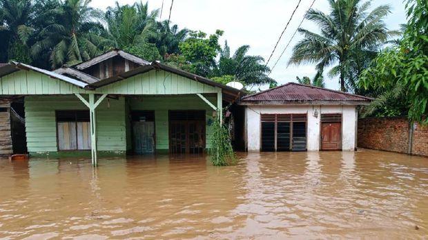 Banjir di Kampar (dok. Istimewa)