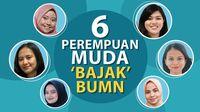 6 Perempuan Muda Ambil Alih Kursi Erick Thohir
