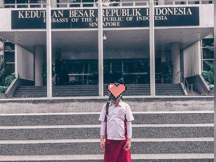 Aisha, anak Denada yang tumbuh besar di Singapura
