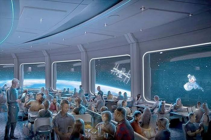 Disney World Tawarkan Sensasi Makan di Restoran Bertema Luar Angkasa