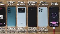 Daya Tahan Baterai iPhone 13 Pro Max Kalahkan HP Flagship Android