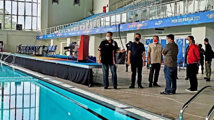 Ketua MPR RI Bambang Soesatyo (Bamsoet) mengaku kagum dengan keberadaan Stadion Renang Aquatic Papua yang memiliki kualitas berstandar internasional.