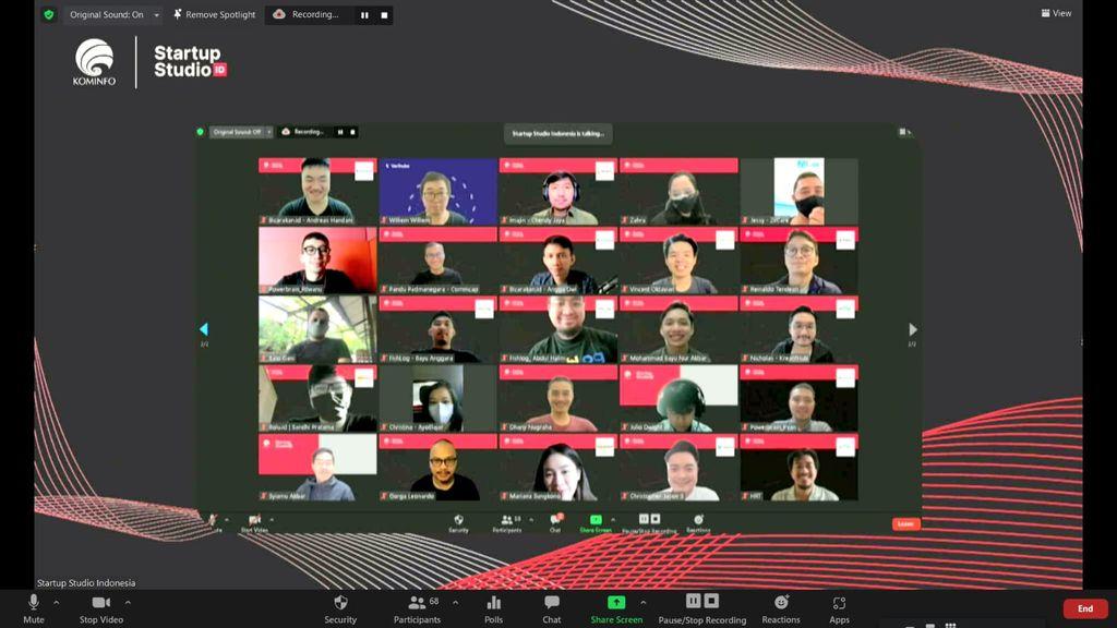 Kementerian Komunikasi dan Informatika (Kominfo) mengumumkan 15 startup terpilih untuk mengikuti program inkubasi intensif Startup Studio Indonesia Batch 3.
