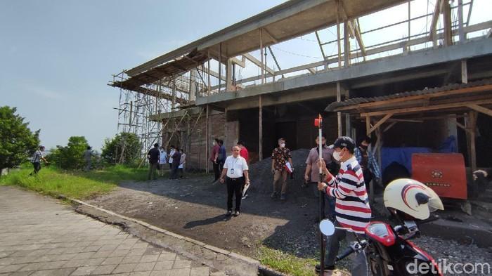 Lokasi tanah yang jadi objek gugatan eks Walkot Semarang Sukawi Sutarip.