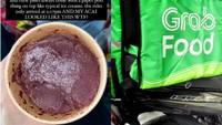 Bikin Kesal! Ojol Makanan Ini Diduga Nyicip Makanan Milik Pelanggan