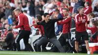 Arsenal Bungkam Tottenham, Arteta: Ini untuk Fans