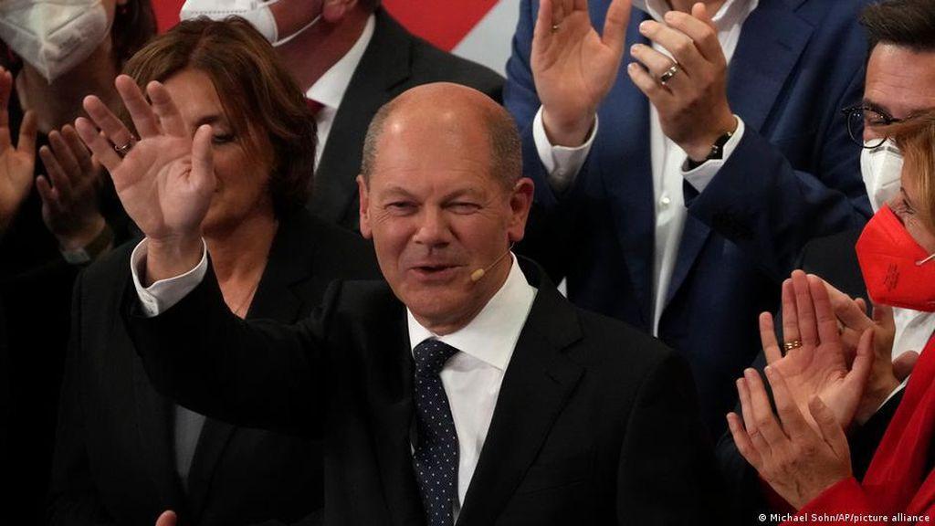 Pemilu Jerman, SPD Unggul Tipis, CDU Merosot ke Perolehan Suara Terburuk