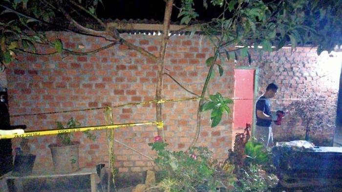 Pria bernama Bagus Triatmaja (23) di Musi Rawas, Sumsel ditangkap polisi terkait kasus pembunuhan seorang wanita. Polisi melakukan olah TKP (dok Istimewa)