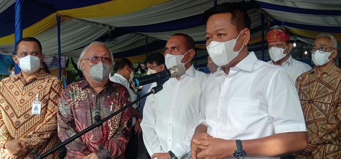 Rektor USU, Muryanto Amin (Ahmad Arfah-detikcom)