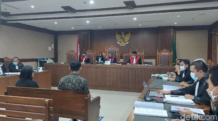 Sidang kasus suap penyidik KPK Maskur Husain (Zunita Putri/detikcom)