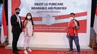 LG Beri LG PuriCare Wearable Air Purifier ke 28 Atlet RI Kelas Dunia