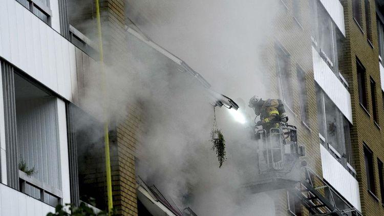Apartemen di Swedia Meledak, 25 Orang Terluka