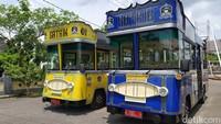 Berhenti Sejak PPKM, Bus Wisata Gatrik Ciamis Kembali Beroperasi
