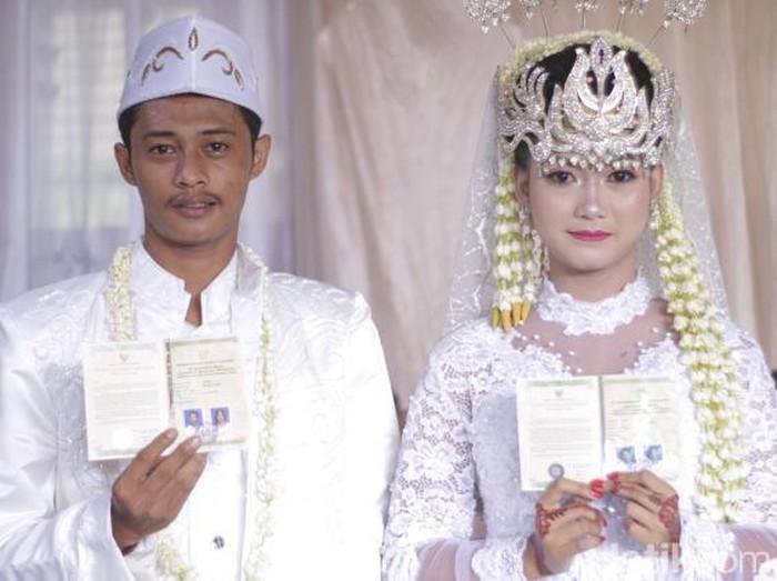 Foto pernikahan Amel dan Chandra. Foto: Dok. pribadi Ayu Amelia Putri.