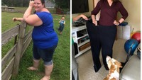 Demi Bisa Main Bareng Anak, Wanita Ini Turun BB 90 Kg dalam 15 Bulan