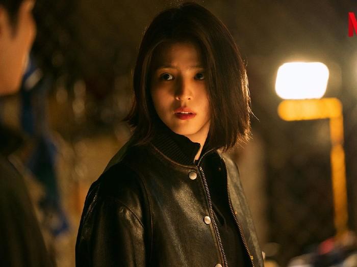 Han So Hee dalam drama Korea My Name. Foto: dok. Netflix