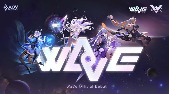Idol Grup Arena of Valor, WaVe Siapkan Konser Spesial
