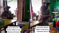 Bawa Uang Rp 2.000 saat Makan Soto, Kakek Ini Ditraktir Makan