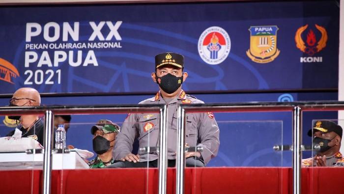 Kapolri Jenderal Listyo Sigit Prabowo meninjau kesiapan pengamanan untuk acara pembukaan dan penutupan PON ke-XX di Papua, yang rencananya dihadiri Presiden Joko Widodo.