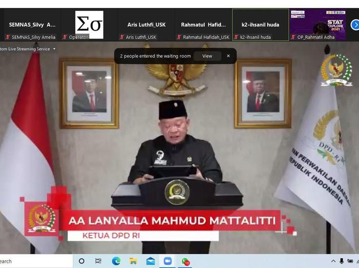 Ketua DPD RI LaNyalla Mattalitti