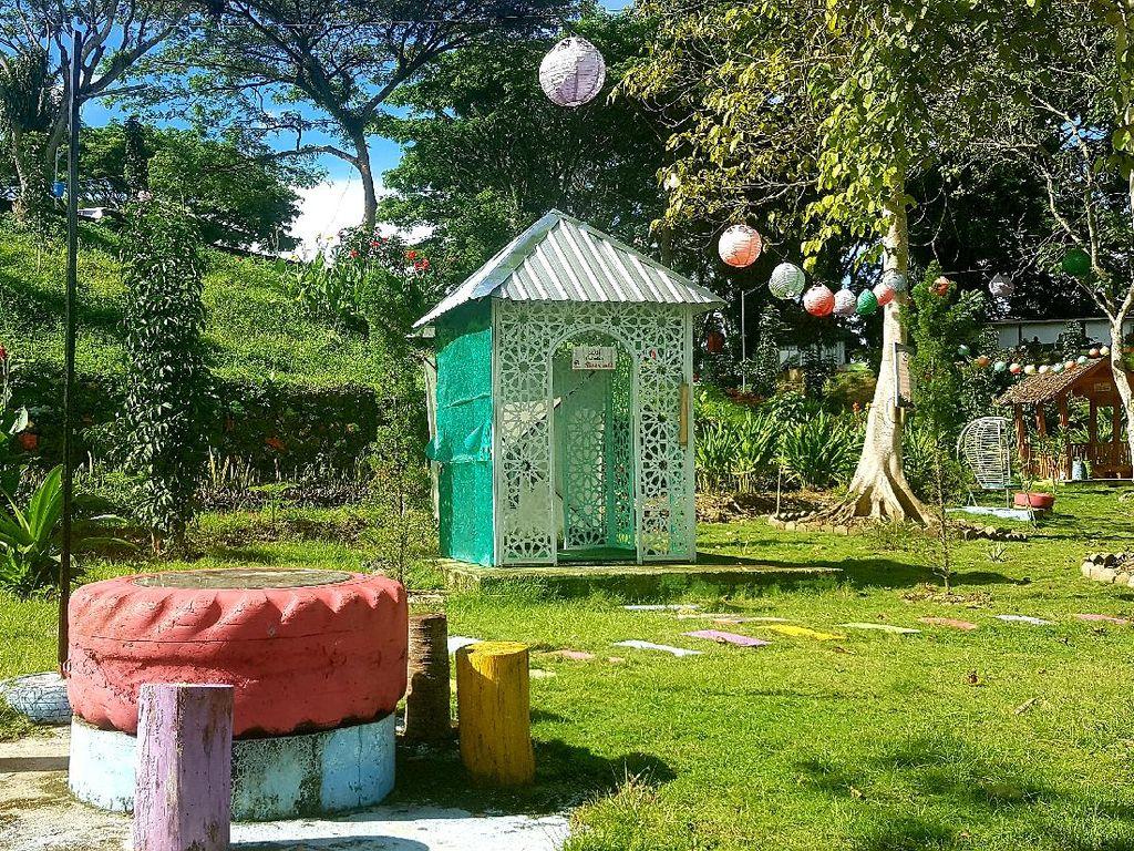 Malaqbi Green Park, Kawasan Wisata Mirip Hutan di Kantor Gubernur Sulbar