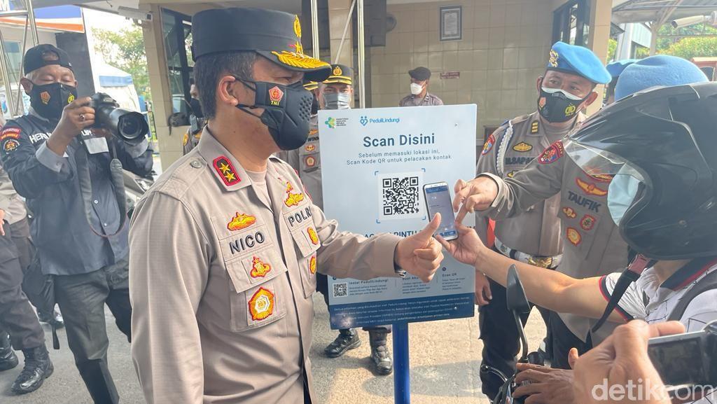 Mulai Hari Ini Masuk Kantor Polisi Wajib Aplikasi PeduliLindungi