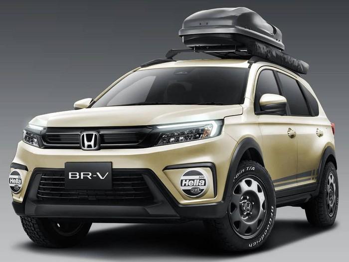 Modifikasi digital All New Honda BR-V dengan gaya outdoor oleh Radya Triadhie (RTWorks)