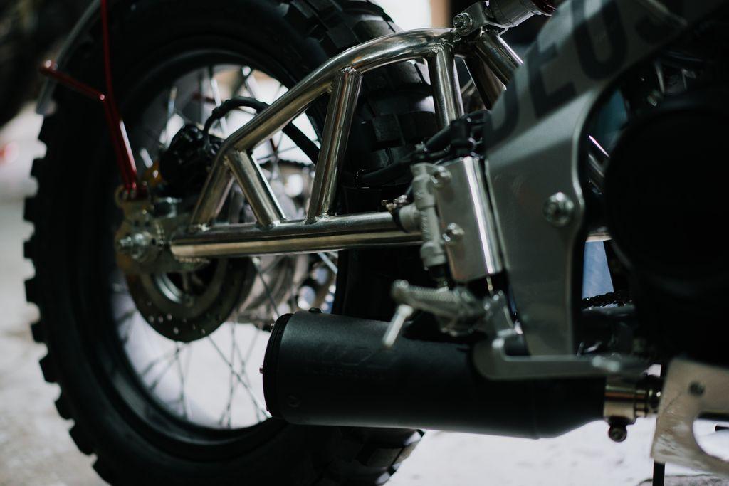 Modifikasi Yamaha XSR 155 ala Street Tracker oleh Deus Temple