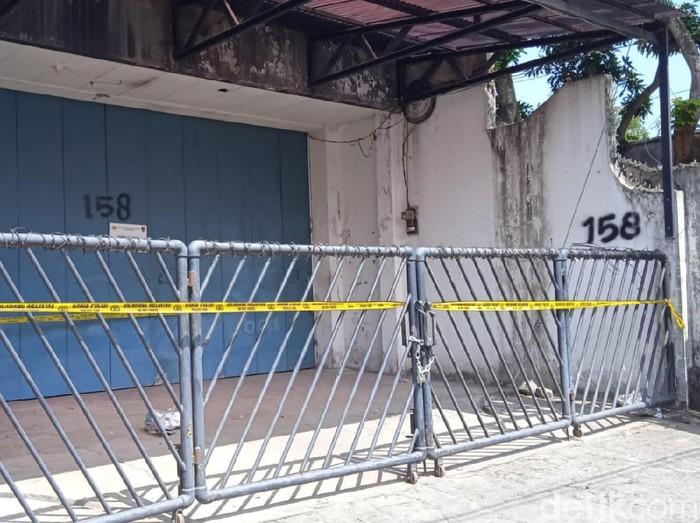 Pabrik obat keras ilegal di Bantul yang digerebek Bareskrim Polri, Selasa (28/9/2021).