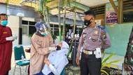 Cegah Klaster PTM di Kota Kediri dengan Polisi Presisi Sambang Sekolah