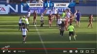 Ricuh Sepakbola Putri, Baku Hantam hingga Jambak-jambakan!